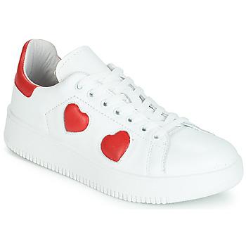 Sko Dame Lave sneakers Yurban JIBOUILLE Hvid