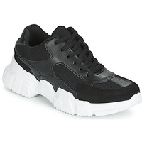 Sko Dame Lave sneakers Yurban JILIBELLE Sort / Hvid