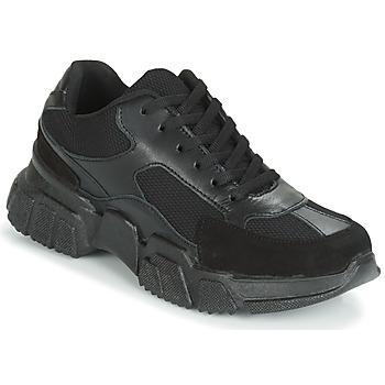Sko Dame Lave sneakers Yurban JILIBELLE Sort