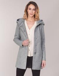 textil Dame Frakker Vero Moda VMVERODONA Grå