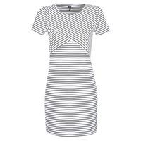 textil Dame Korte kjoler Vero Moda VMVIGGA Hvid / Sort