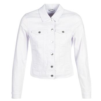 textil Dame Cowboyjakker Vero Moda VMHOT SOYA Hvid