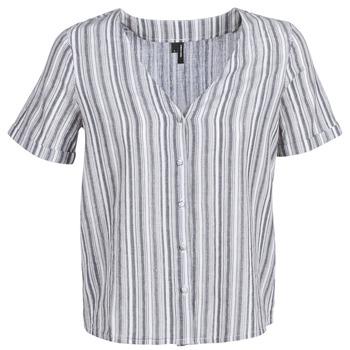 textil Dame Toppe / Bluser Vero Moda VMESTHER Marineblå / Hvid