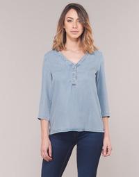 textil Dame Toppe / Bluser Vero Moda VMTRUDY Blå