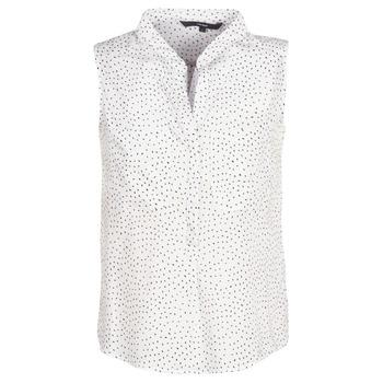 textil Dame Toppe / Bluser Vero Moda VMERIKA Hvid / Sort