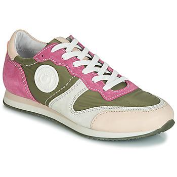 Sko Dame Lave sneakers Pataugas IDOL/MIX Kaki / Violet / Beige