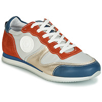Sko Dame Lave sneakers Pataugas IDOL/MIX Orange / Beige / Blå
