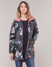 textil Dame Parkaer S.Oliver 04-899-61-5060-90G17 Marineblå / Flerfarvet