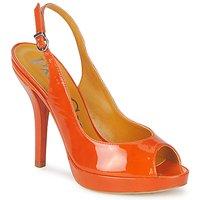 Sko Dame Sandaler Paco Gil STAR FIZO Orange