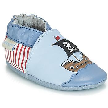 Sko Dreng Babytøfler Robeez PIRATE'S BOAT Blå