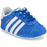 Sko Børn Lave sneakers adidas Originals GAZELLE CRIB Blå