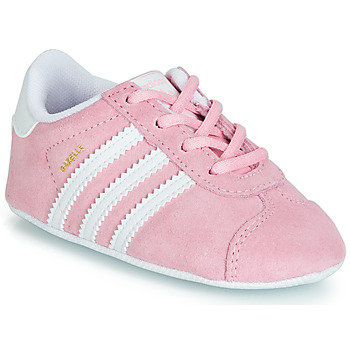Sko Børn Lave sneakers adidas Originals GAZELLE CRIB Pink