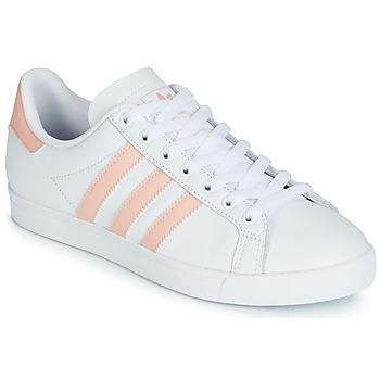 Sko Dame Lave sneakers adidas Originals COURSTAR Hvid / Pink