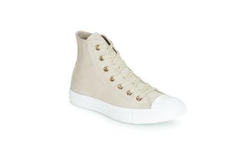Sko Dame Høje sneakers Converse CHUCK TAYLOR ALL STAR HEARTS CANVAS HI Grå
