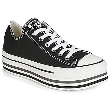 Sko Dame Lave sneakers Converse CHUCK TAYLOR ALL STAR PLATFORM EVA LAYER CANVAS OX Sort