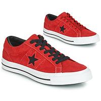 Sko Lave sneakers Converse ONE STAR DARK STAR VINTAGE SUEDE OX Rød
