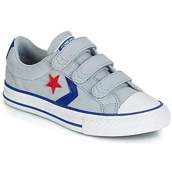 Sko Dreng Lave sneakers Converse STAR PLAYER 3V CANVAS OX Grå
