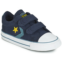 Sko Dreng Lave sneakers Converse STAR PLAYER 2V CANVAS OX Blå