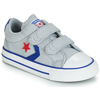 Sko Dreng Lave sneakers Converse STAR PLAYER 2V CANVAS OX Grå