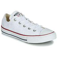 Sko Pige Lave sneakers Converse CHUCK TAYLOR ALL STAR BROADERIE ANGLIAS OX Hvid