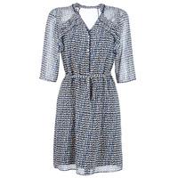 textil Dame Korte kjoler One Step FLORUS Marineblå / Flerfarvet