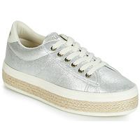 Sko Dame Lave sneakers No Name MALIBU Sølv