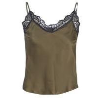 textil Dame Toppe / Bluser Ikks BN11105-56 Kaki
