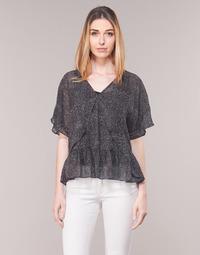 textil Dame Toppe / Bluser Ikks BN11175-02 Sort