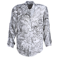 textil Dame Skjorter / Skjortebluser Ikks BN12085-11 Hvid / Sort