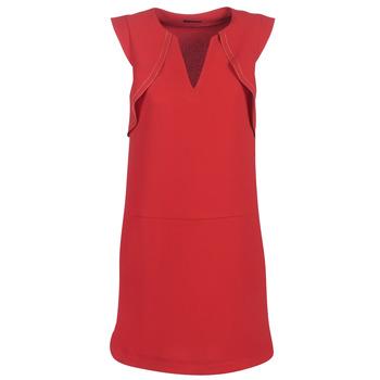 textil Dame Korte kjoler Ikks BN31075-36 Rød