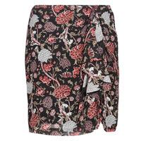 textil Dame Nederdele Ikks BN27105-02 Sort / Flerfarvet