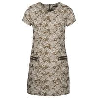 textil Dame Lange kjoler Ikks BN30165-65 Kaki / Beige