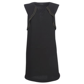 textil Dame Korte kjoler Ikks BN31075-02 Sort