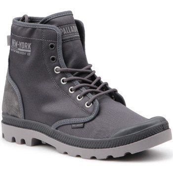 Sko Herre Høje sneakers Palladium Pampa Solid Ranger 76013-075-M grey