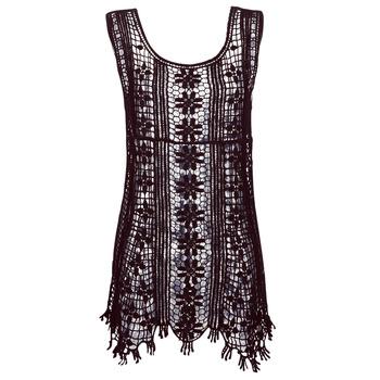 textil Dame Korte kjoler Banana Moon JOSY DREAMLAND Sort