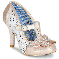 Sko Dame Pumps Irregular Choice PAPILLON Hvid