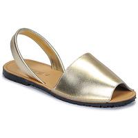 Sko Dame Sandaler So Size LOJA Guld