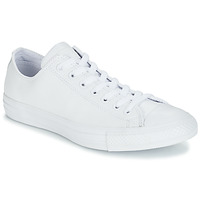 Sko Lave sneakers Converse ALL STAR MONOCHROME CUIR OX Hvid