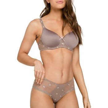 Undertøj Dame Balconette BH (lav skål) Louisa Bracq 440-06 TPE Brun