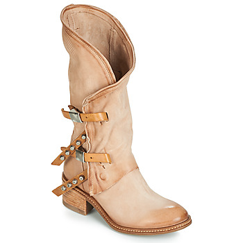Sko Dame Chikke støvler Airstep / A.S.98 WINNIE Beige