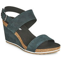 Sko Dame Sandaler Timberland CAPRI SUNSET WEDGE Sort