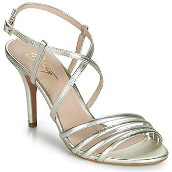 Sko Dame Sandaler Betty London JIKOTIPE Guld / Sølv