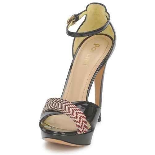 PA1638CC1V  Pollini  sandaler  dame  læder-rød LbisN