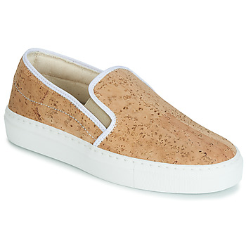 Sko Dame Slip-on Dream in Green JAKAMORI Beige