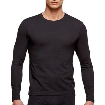 textil Herre Langærmede T-shirts Impetus 1368898 020 Sort