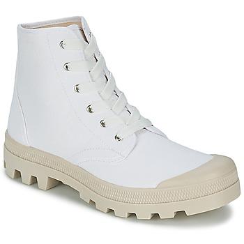Sko Herre Høje sneakers Casual Attitude MADIMA Hvid