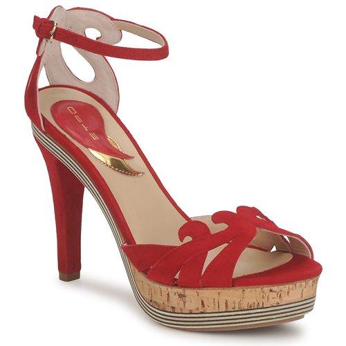 Sko Dame Sandaler Etro 3488 Rød