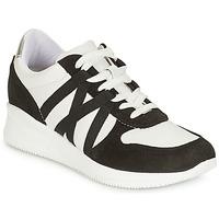 Sko Dame Lave sneakers André ALLURE Sort / Hvid