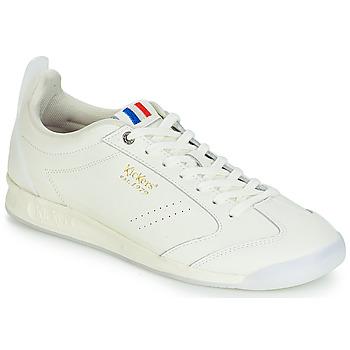 Sko Herre Lave sneakers Kickers KICK 18 Hvid