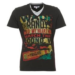 textil Herre T-shirts m. korte ærmer Yurban CLIFF Sort